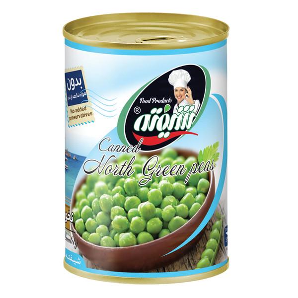 کنسرو نخود سبز شیفته - 370 گرم