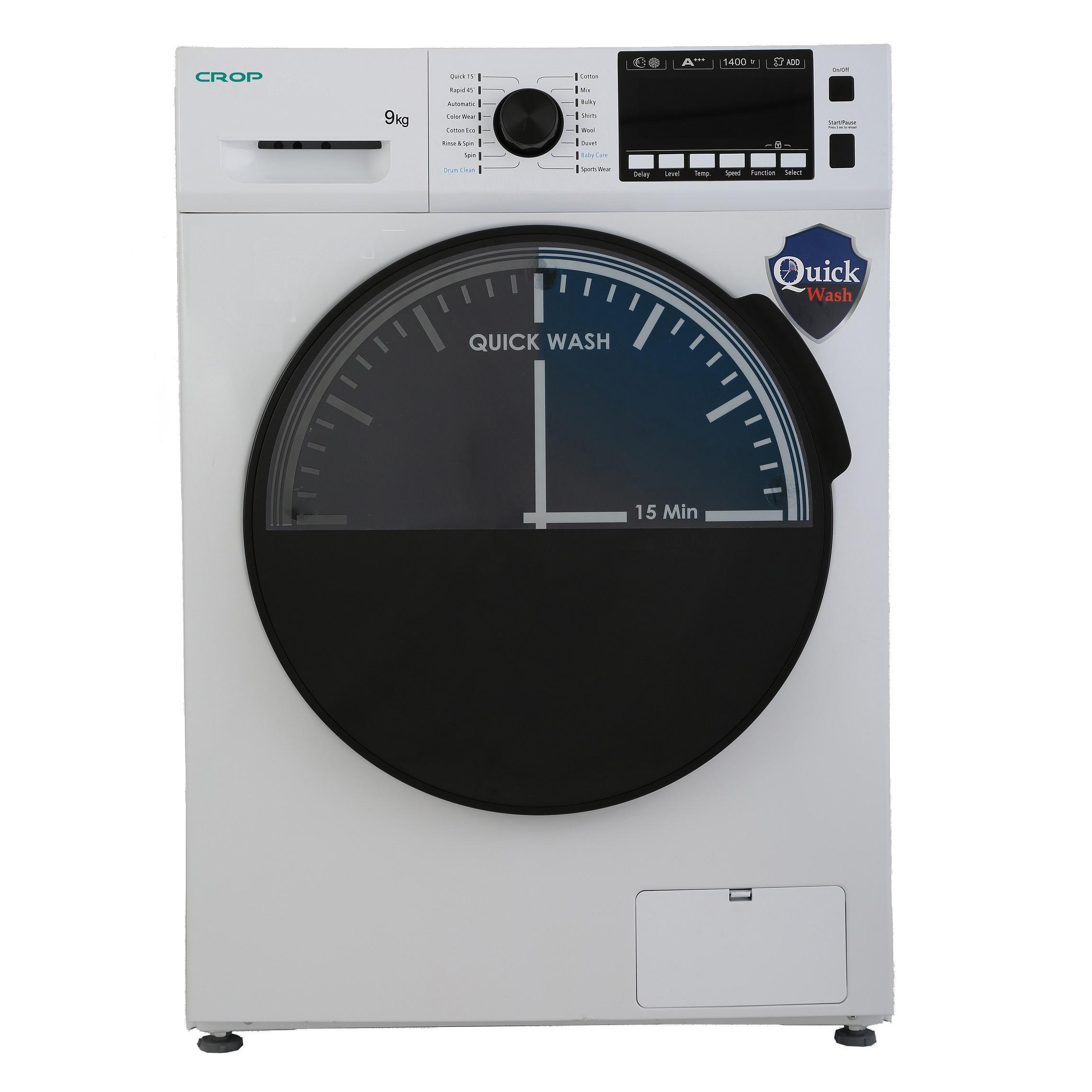 ماشین لباسشویی کروپ مدل WFT 29417 ظرفیت 9 کیلوگرم