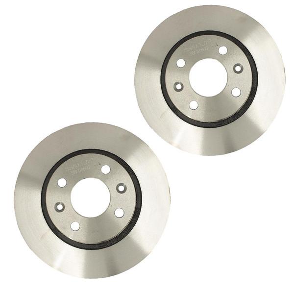 دیسک ترمز چرخ جلو رنو کد 0235 مناسب برای ال90 بسته 2 عددی