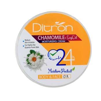 کرم مرطوب کننده دیترون مدل Chamomile حجم 200 میلی لیتر