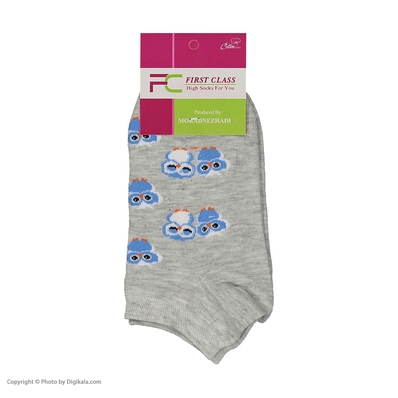جوراب زنانه فرست کلاس مدل M2001 مجموعه 6 عددی -  - 7