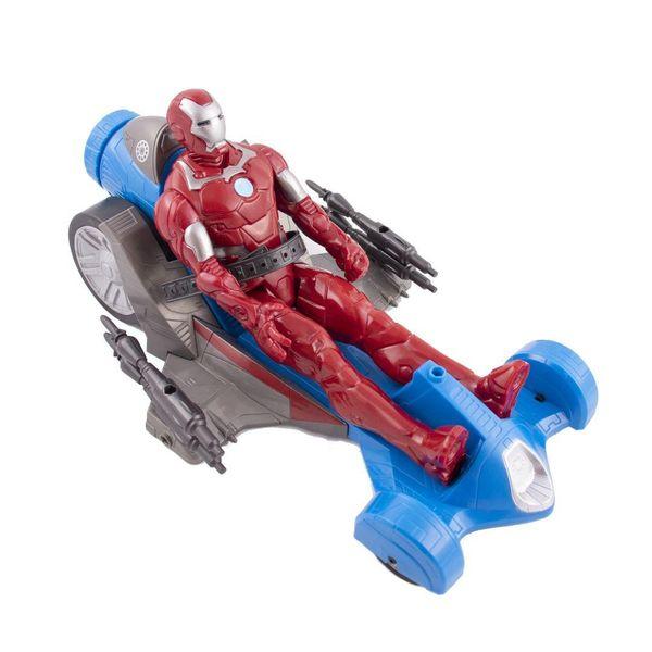 اکشن فیگور مدل Marvel Iron Man with Battle Racer
