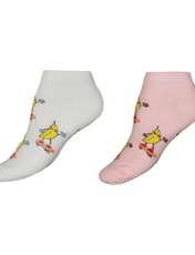 جوراب زنانه فرست کلاس طرح موز مجموعه 2 عددی -  - 1