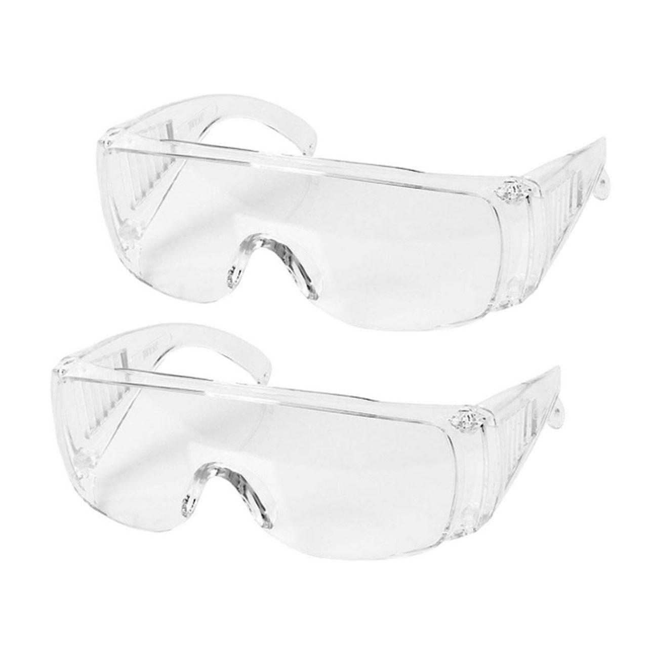 عینک ایمنی مدل IGD20201 بسته دو عددی