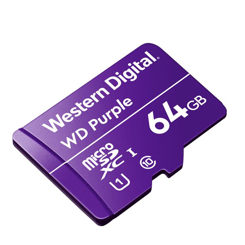 کارت حافظه microSDXC وسترن دیجیتال کلاس 10 استاندارد UHS-I U3 سرعت 100MBps ظرفیت 64 گیگابایت به همراه آداپتور SD