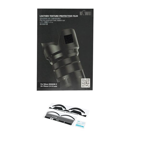 برچسب پوششی لنز کی وی مدل KS-Z2470F4L مناسب برای لنز نیکون NIKKOR Z 24-70mm f/4 S