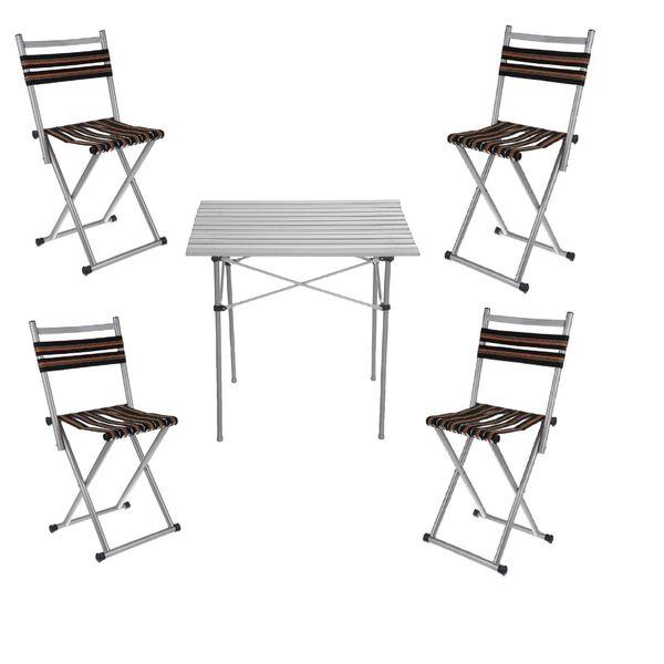 میز و صندلی سفری کد P04