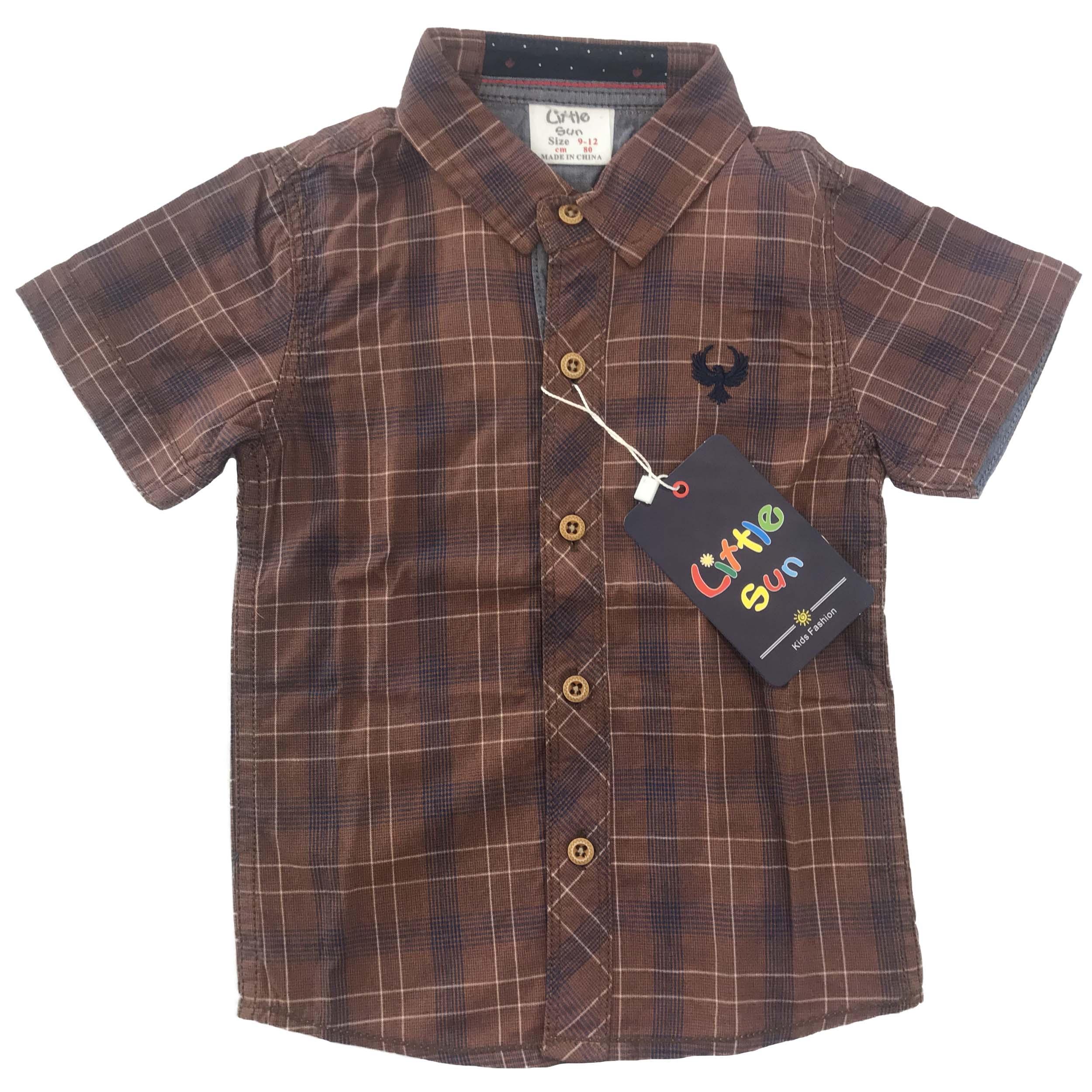 پیراهن پسرانه مدل شارپ کد 5233