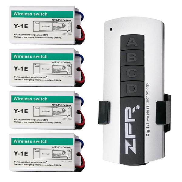 ریموت کنترل روشنایی زد اف ار مدل y1-4