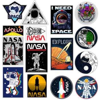 استیکر لپ تاپ ماسا دیزاین طرح ناسا کد STV002 مجموعه 15 عددی