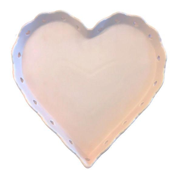 شیرینی خوری خانه سفید مدل قلب