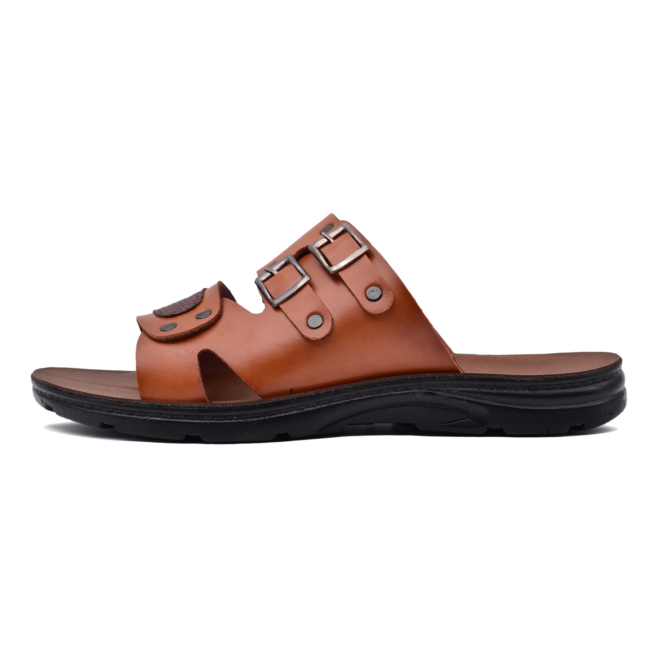 صندل مردانه کفش شیما مدل الیور کد 7258