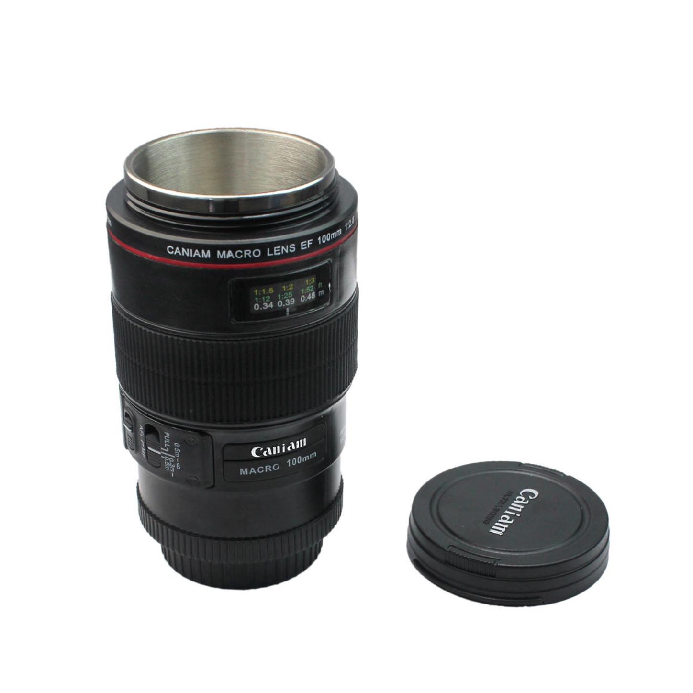 ماگ طرح لنز دوربین مدل 100 ماکرو
