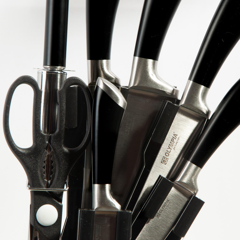 سرویس چاقو 8 پارچه المپیا مدل لانگ لایف کد 706