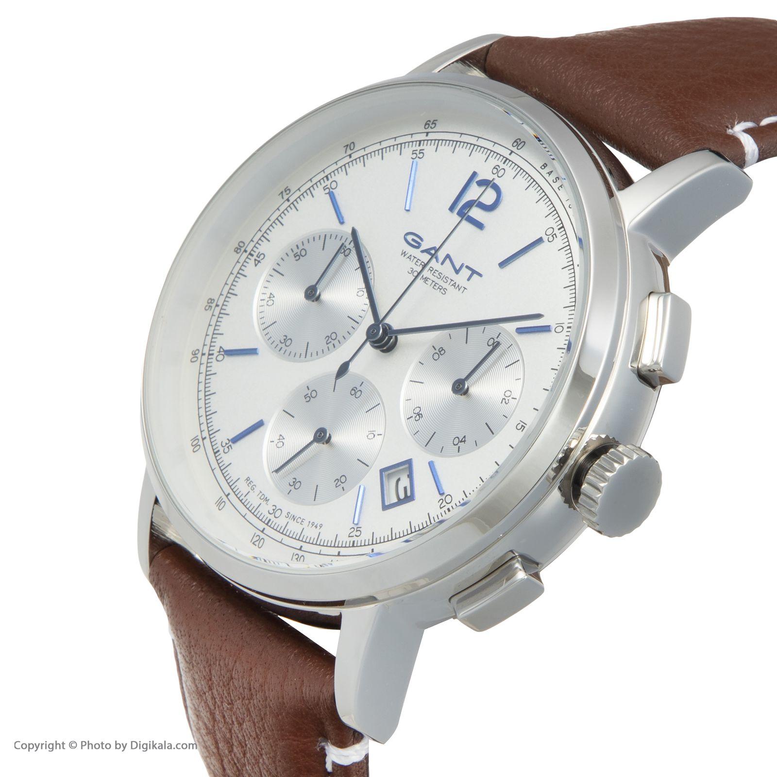 ساعت مچی عقربه ای مردانه گنت مدل GWW079001 -  - 4