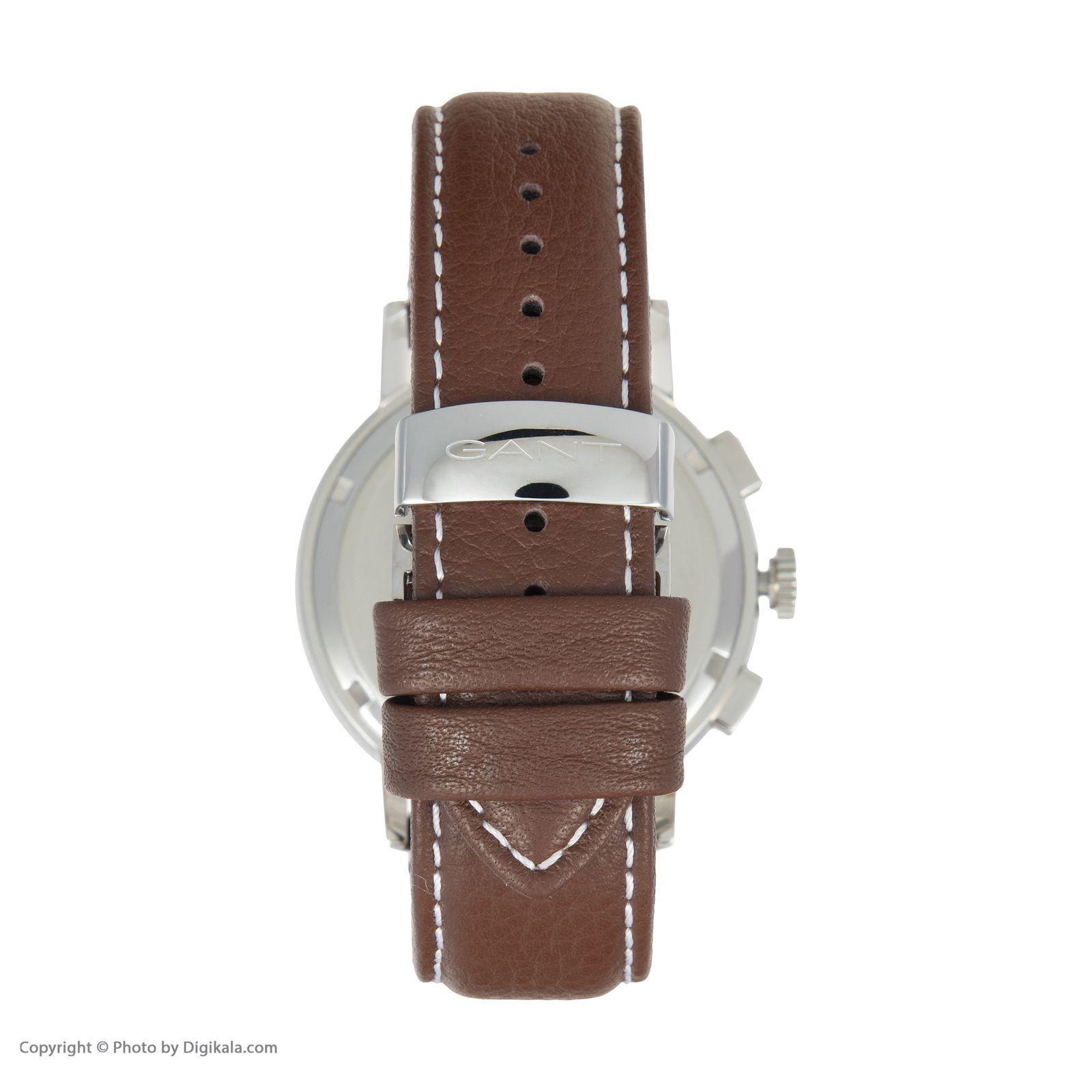 ساعت مچی عقربه ای مردانه گنت مدل GWW079001 -  - 5