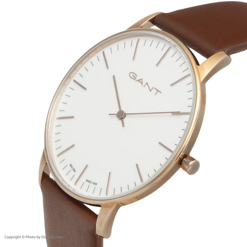 ساعت مچی عقربه ای مردانه گنت مدل GWW039005