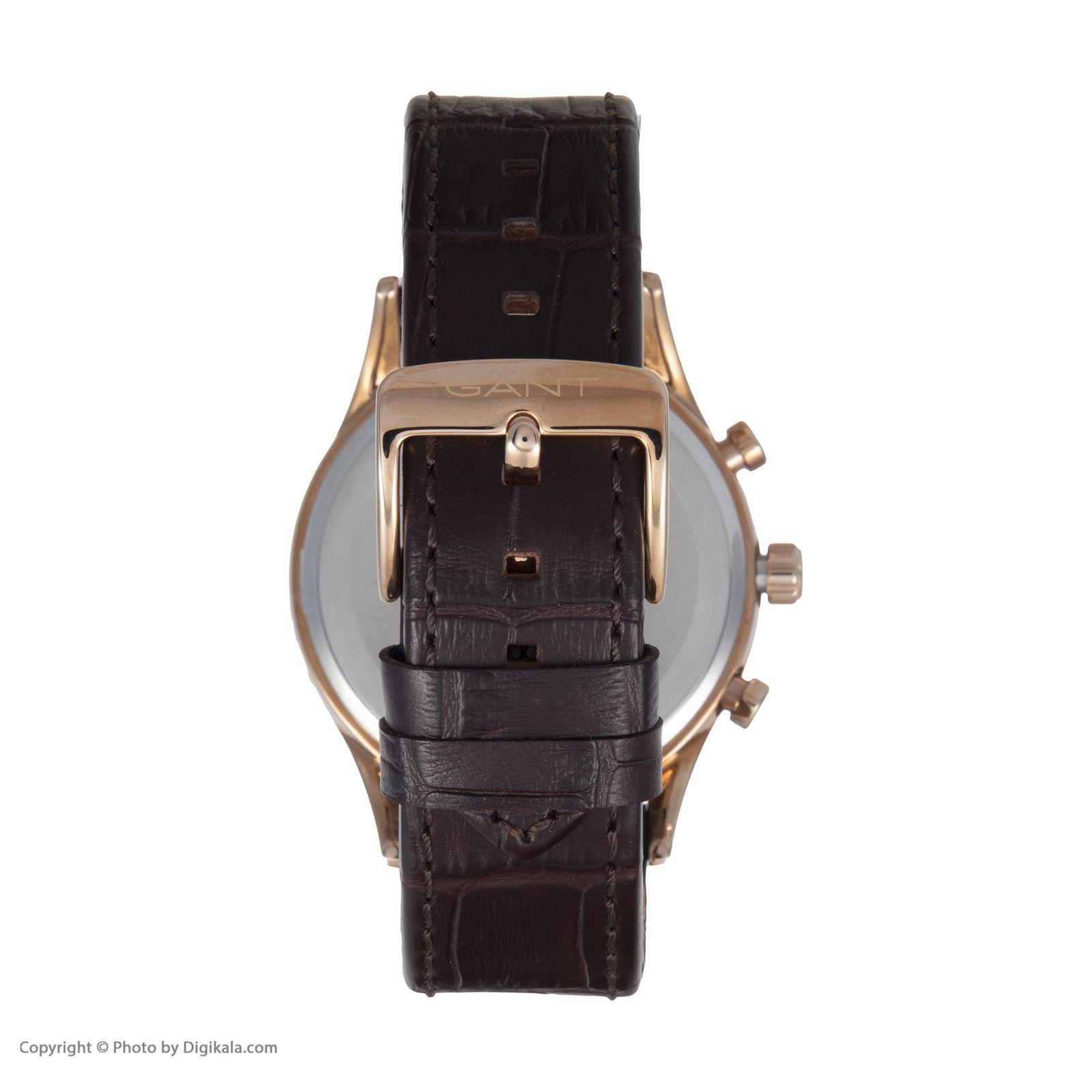 ساعت مچی عقربه ای مردانه گنت مدل GWW005003 -  - 5