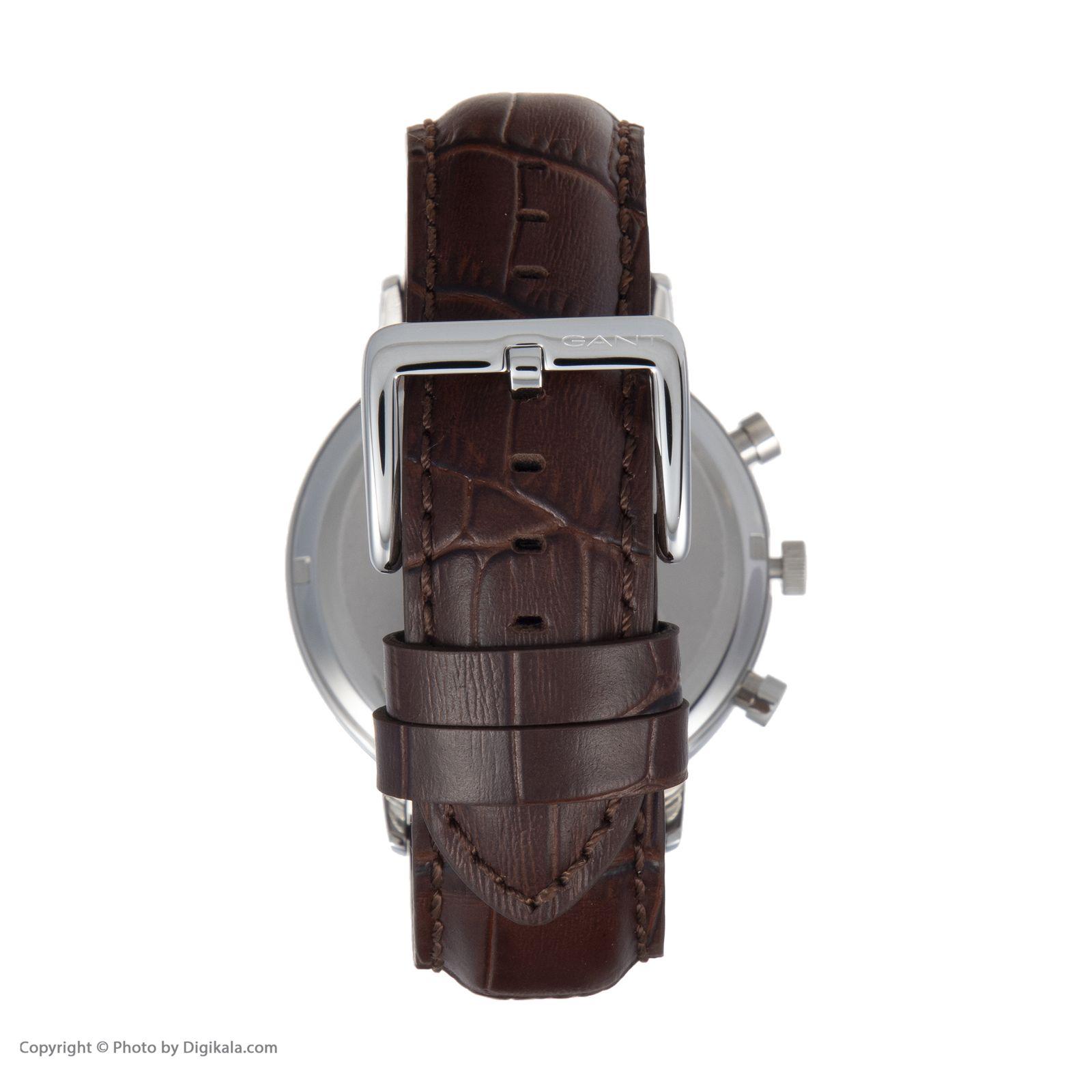 ساعت مچی عقربه ای مردانه گنت مدل GWW11201 -  - 5