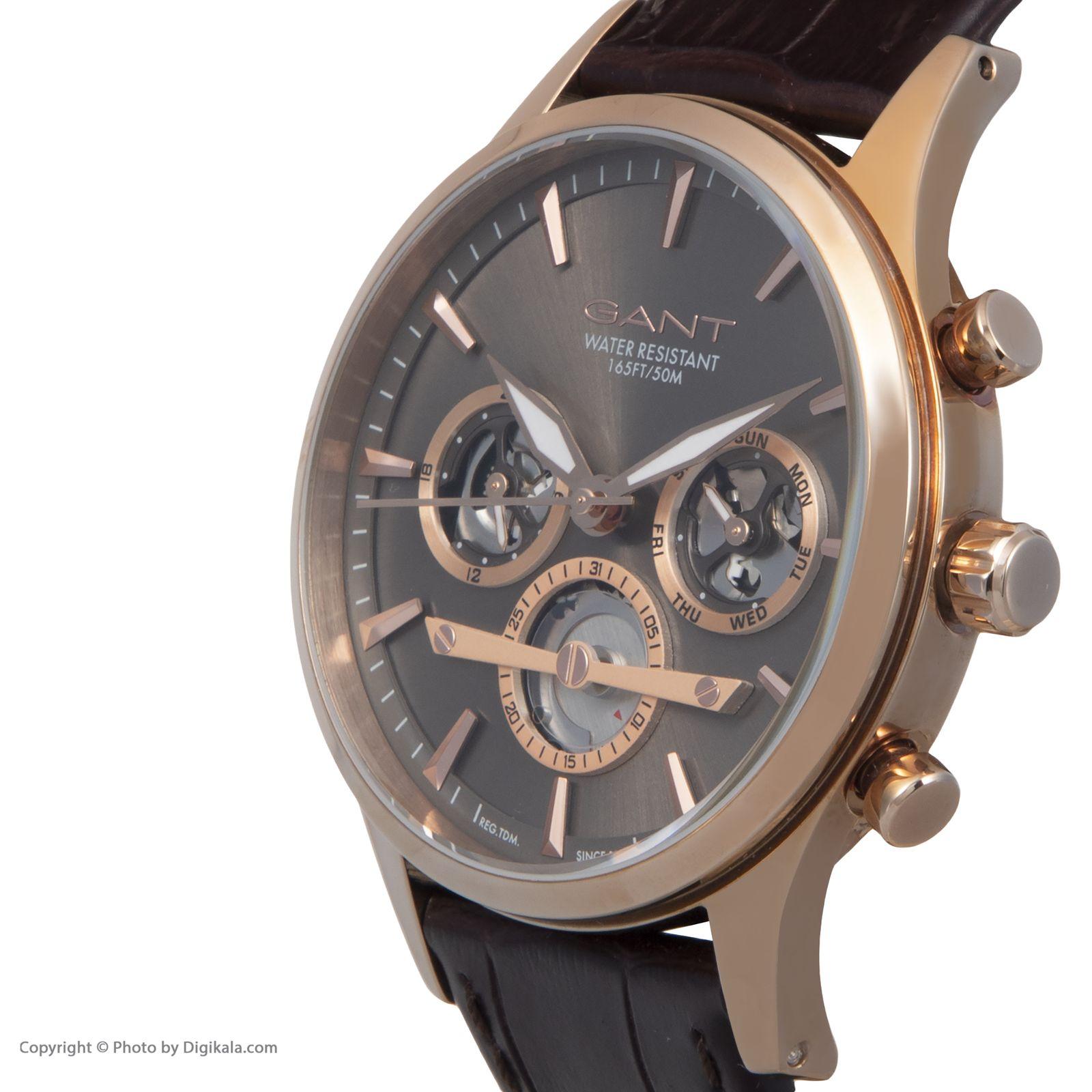 ساعت مچی عقربه ای مردانه گنت مدل GWW005003 -  - 4