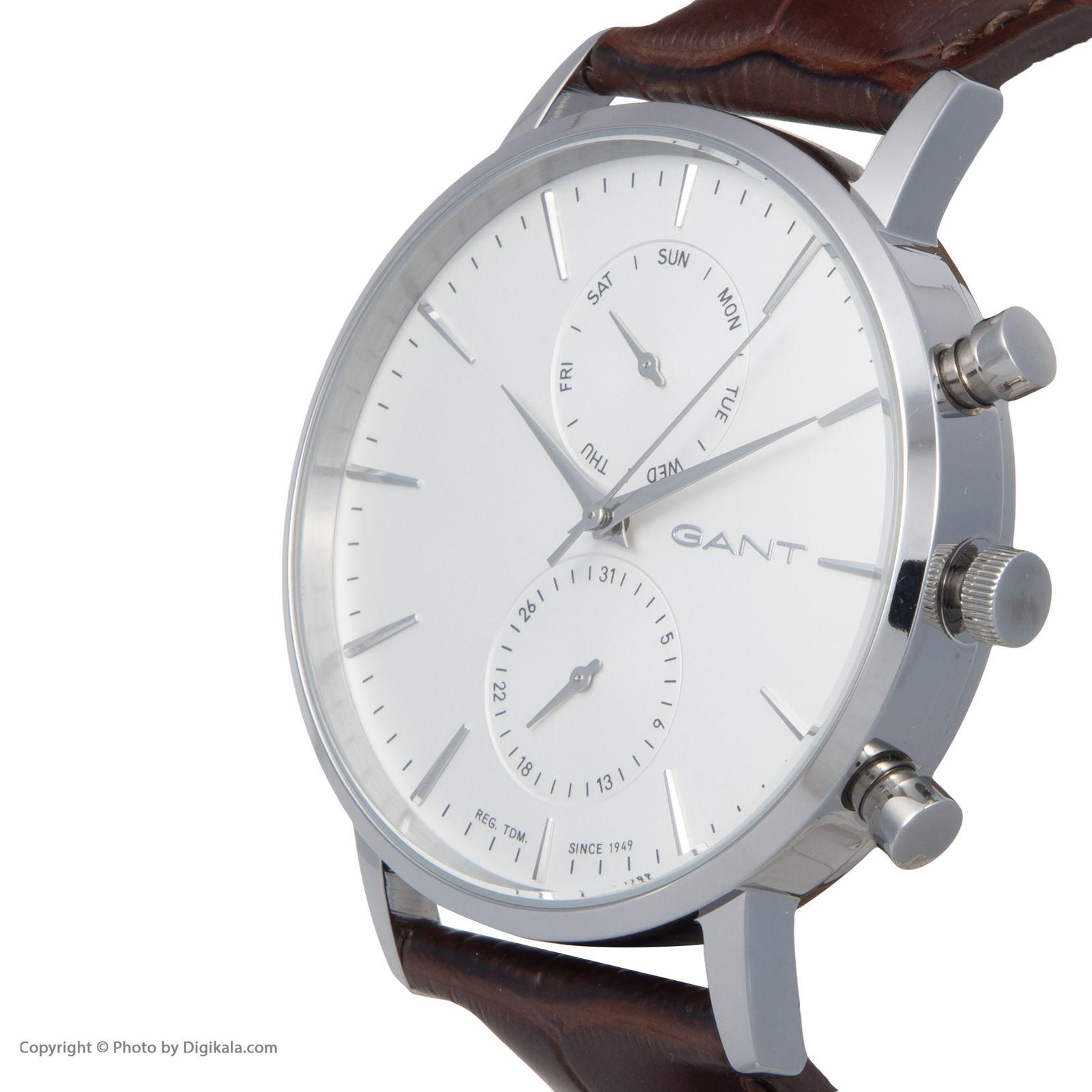 ساعت مچی عقربه ای مردانه گنت مدل GWW11201 -  - 4
