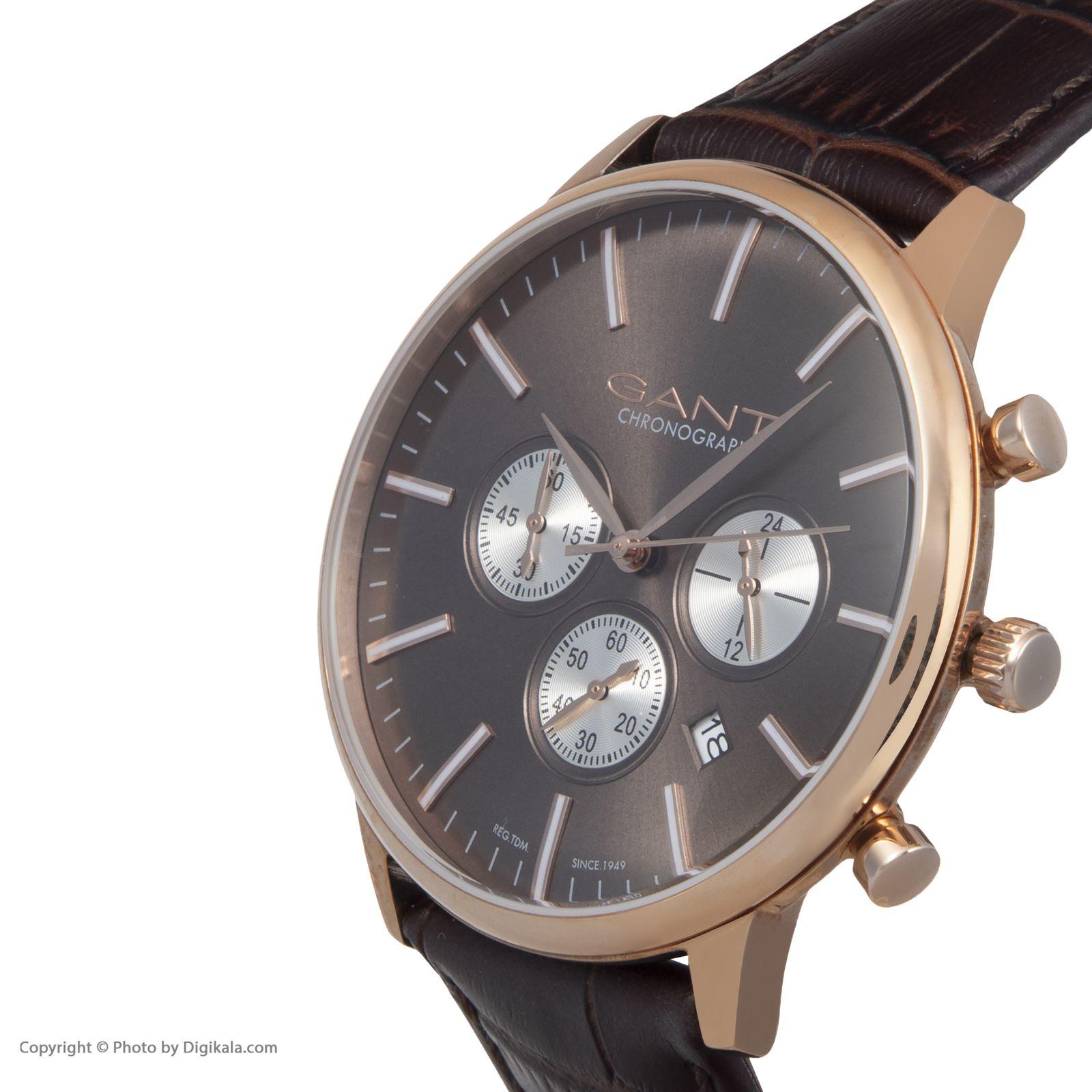 ساعت مچی عقربه ای مردانه گنت مدل GWW024002 -  - 4