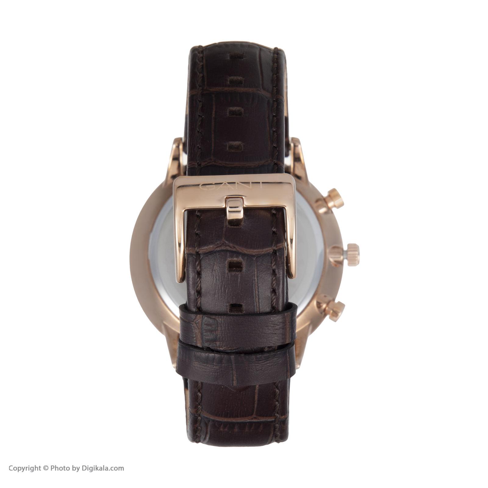 ساعت مچی عقربه ای مردانه گنت مدل GWW024002 -  - 5