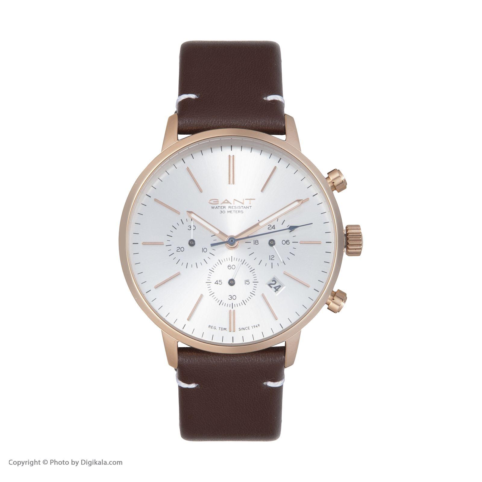 ساعت مچی عقربه ای مردانه گنت مدل GWGT076003 -  - 3
