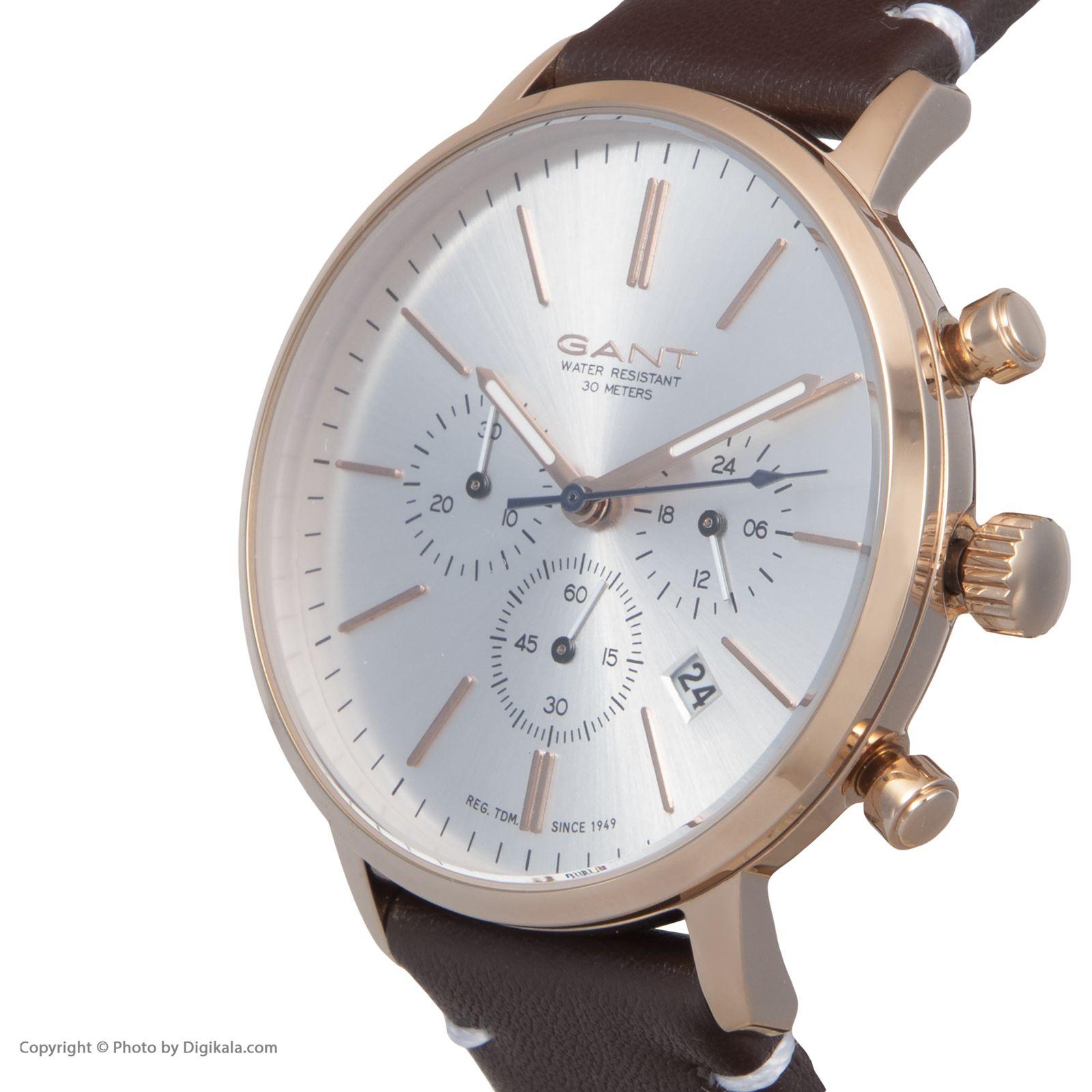 ساعت مچی عقربه ای مردانه گنت مدل GWGT076003 -  - 4