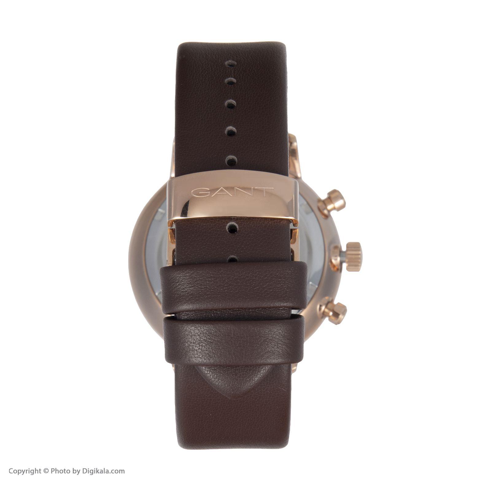 ساعت مچی عقربه ای مردانه گنت مدل GWGT076003 -  - 5
