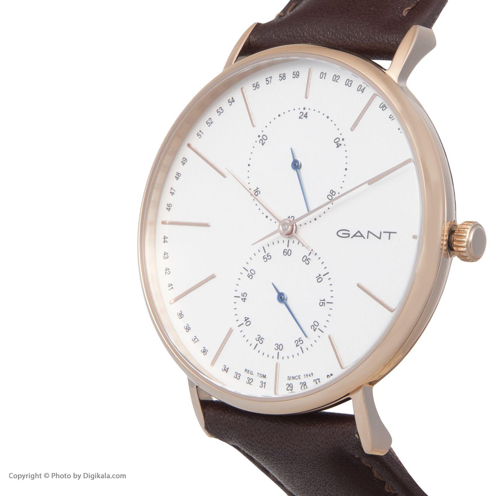 ساعت مچی عقربه ای مردانه گنت مدل GWW036002 -  - 4