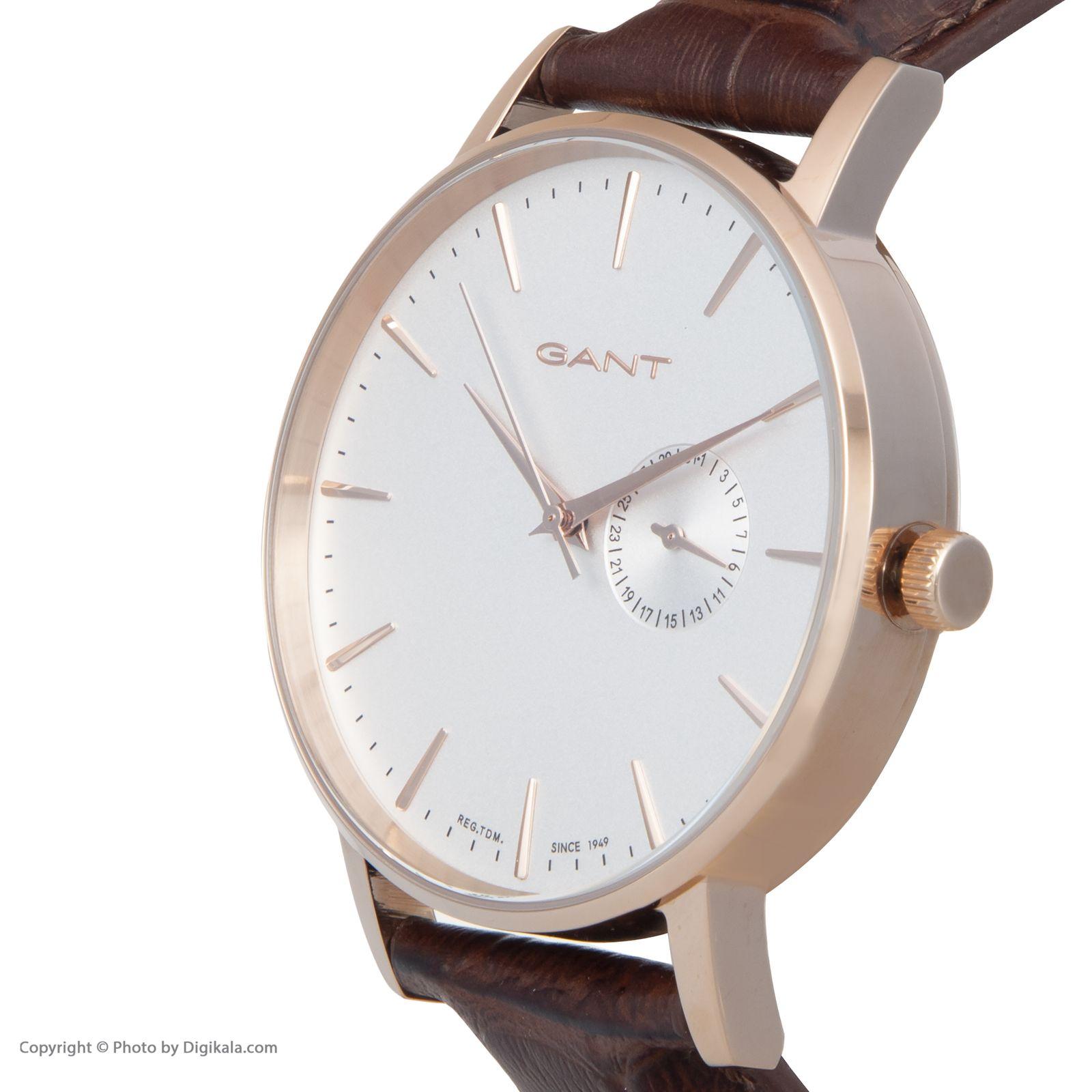 ساعت مچی عقربه ای مردانه گنت مدل GWW10846 -  - 4