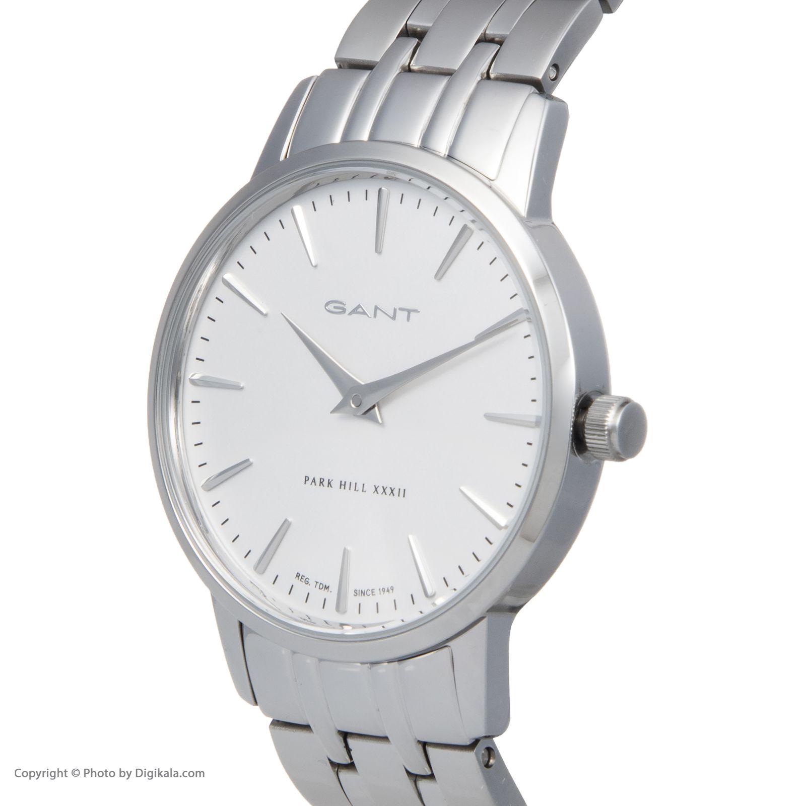 ساعت مچی عقربه ای زنانه گنت مدل GWW11403 -  - 5