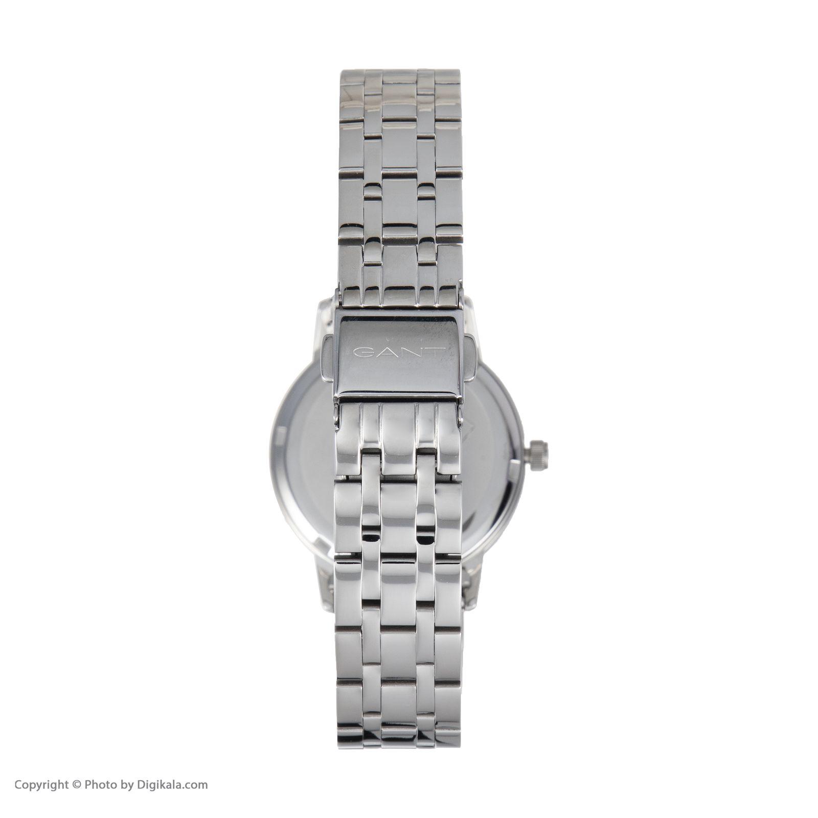 ساعت مچی عقربه ای زنانه گنت مدل GWW11403 -  - 4