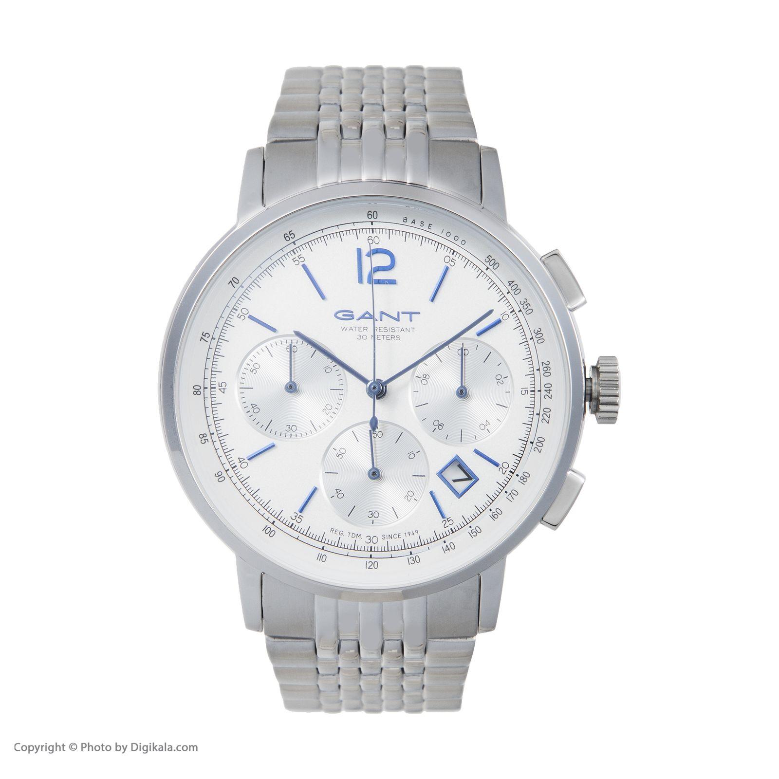 ساعت مچی عقربه ای مردانه گنت مدل GWW079003 -  - 3