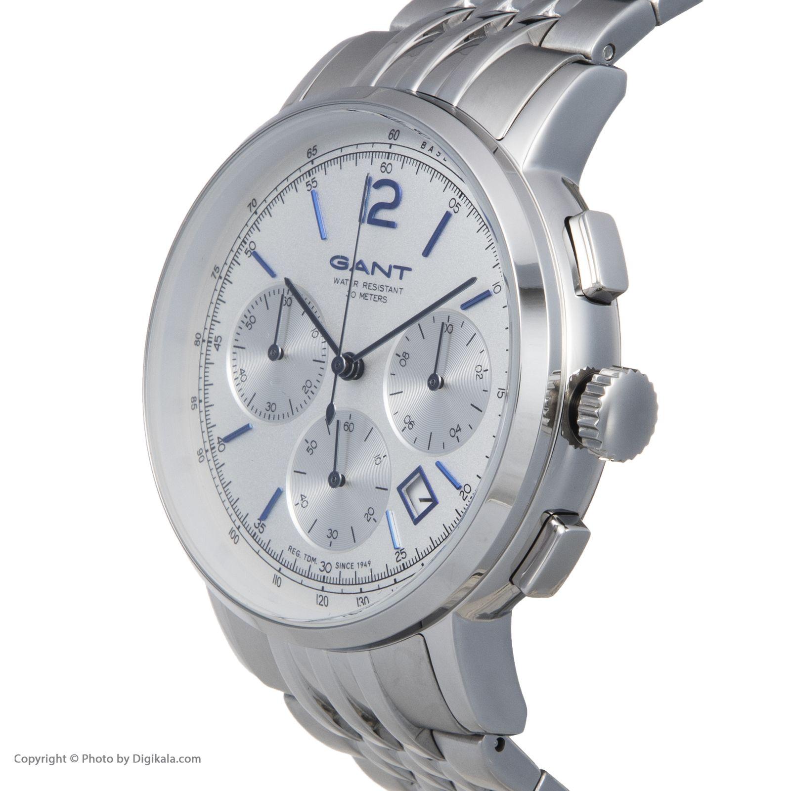 ساعت مچی عقربه ای مردانه گنت مدل GWW079003 -  - 5
