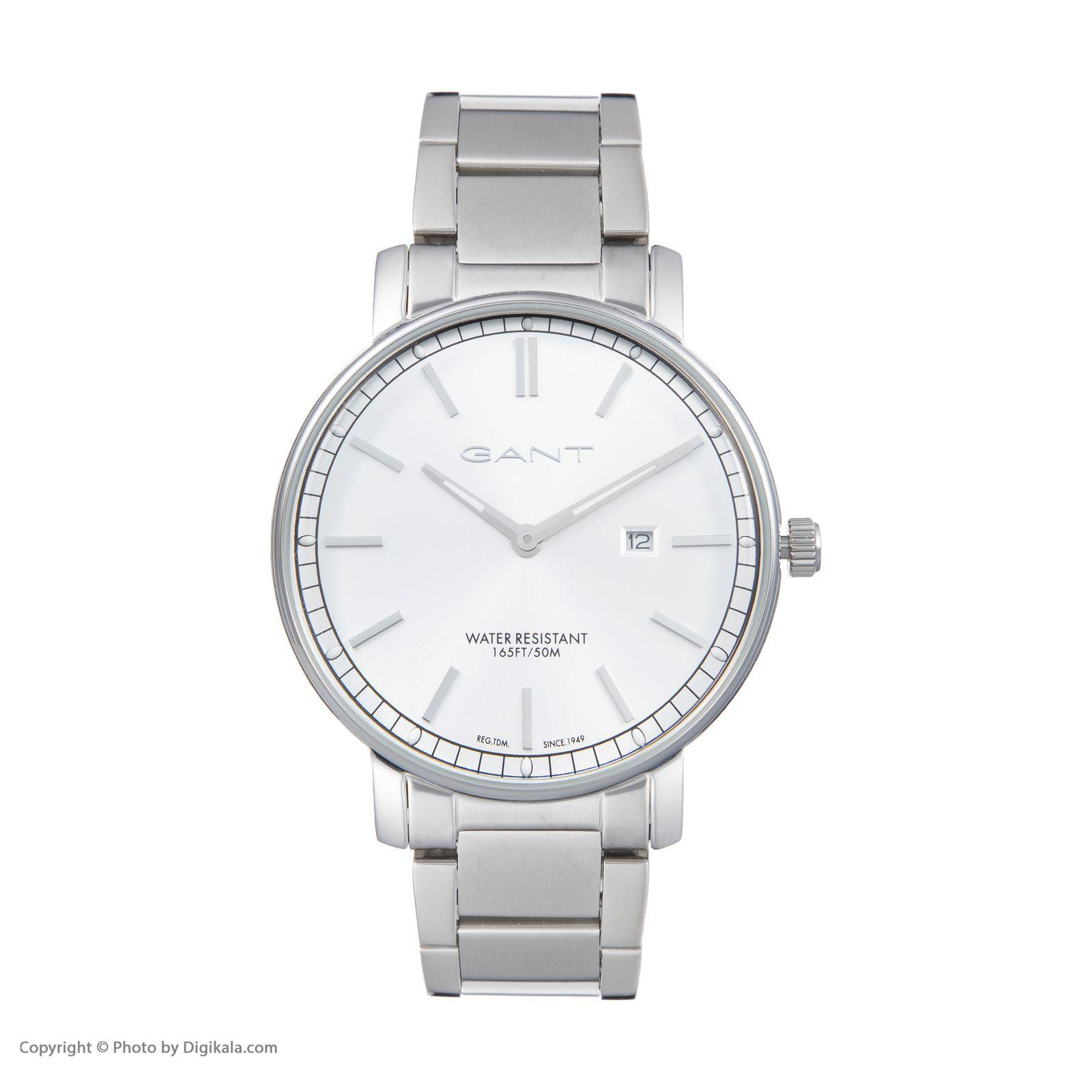 ساعت مچی عقربه ای مردانه گنت مدل GWW006025 -  - 3