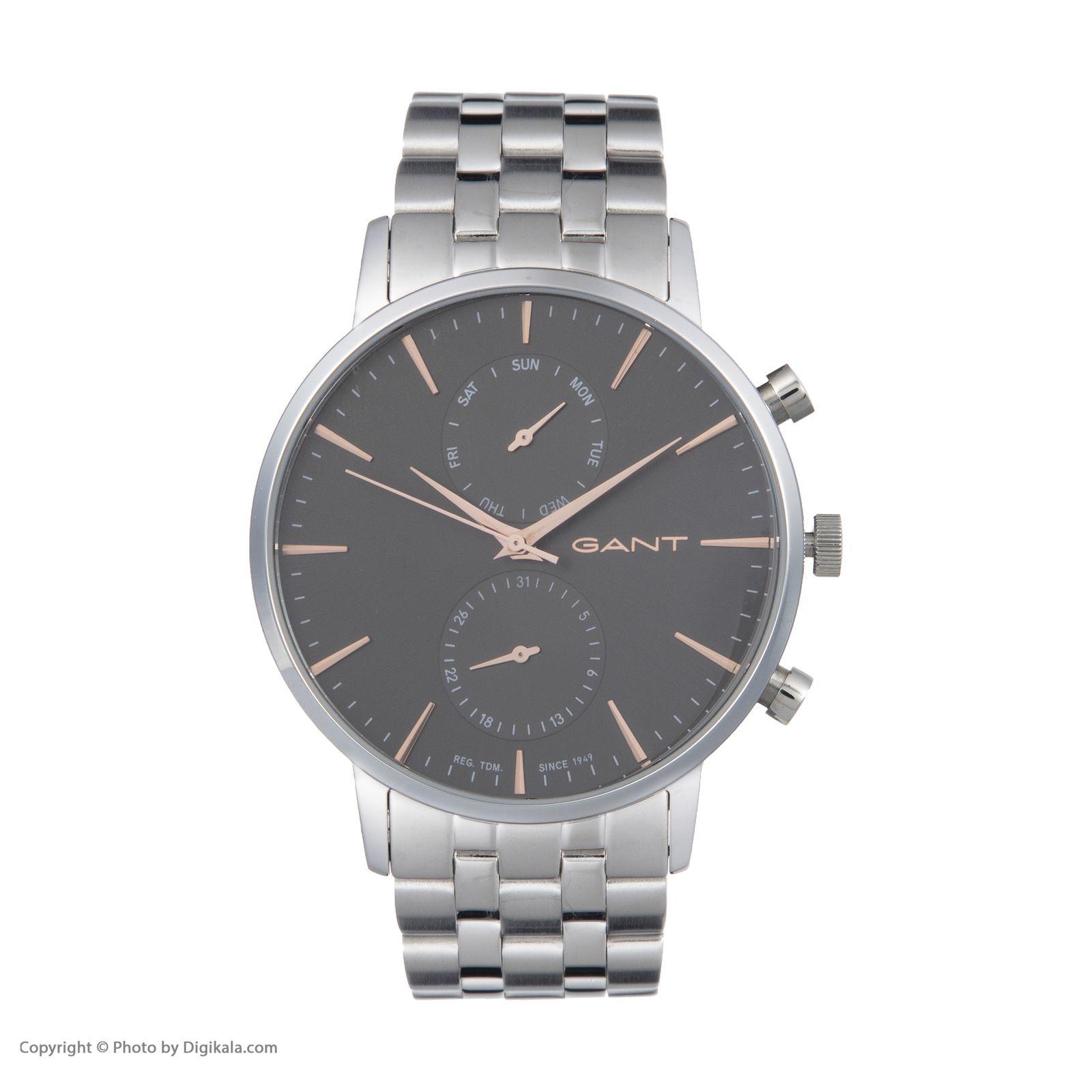 ساعت مچی عقربه ای مردانه گنت مدل GWW11204 -  - 3