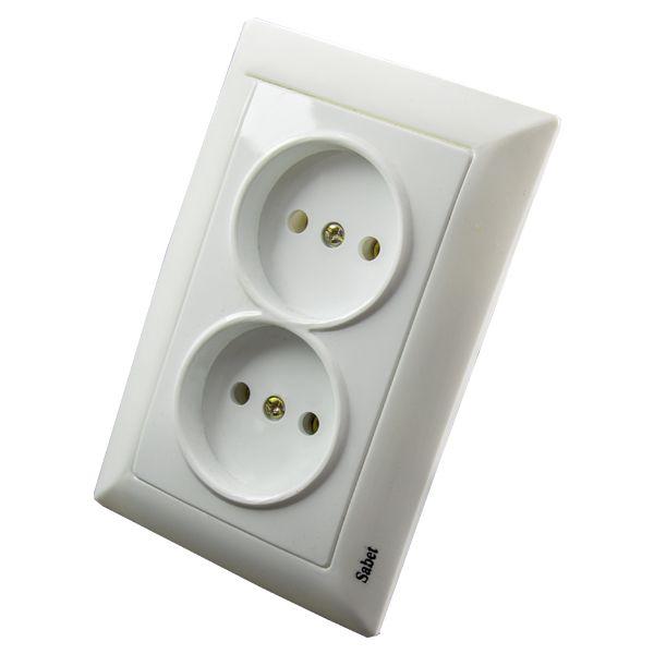 پریز برق ثابت الکتریک کد SA2