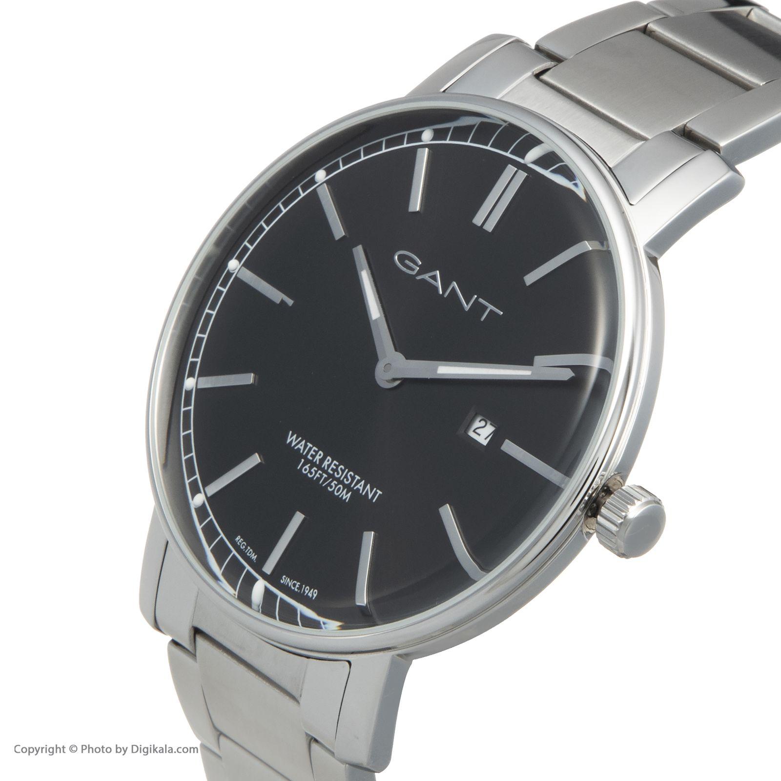 ساعت مچی عقربه ای مردانه گنت مدل GWW006026 -  - 5