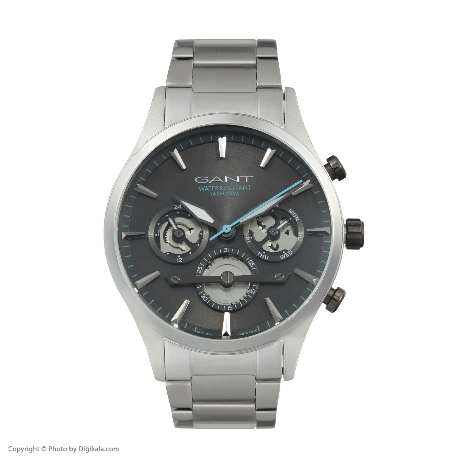 ساعت مچی عقربه ای مردانه گنت مدل GWW005021 -  - 3