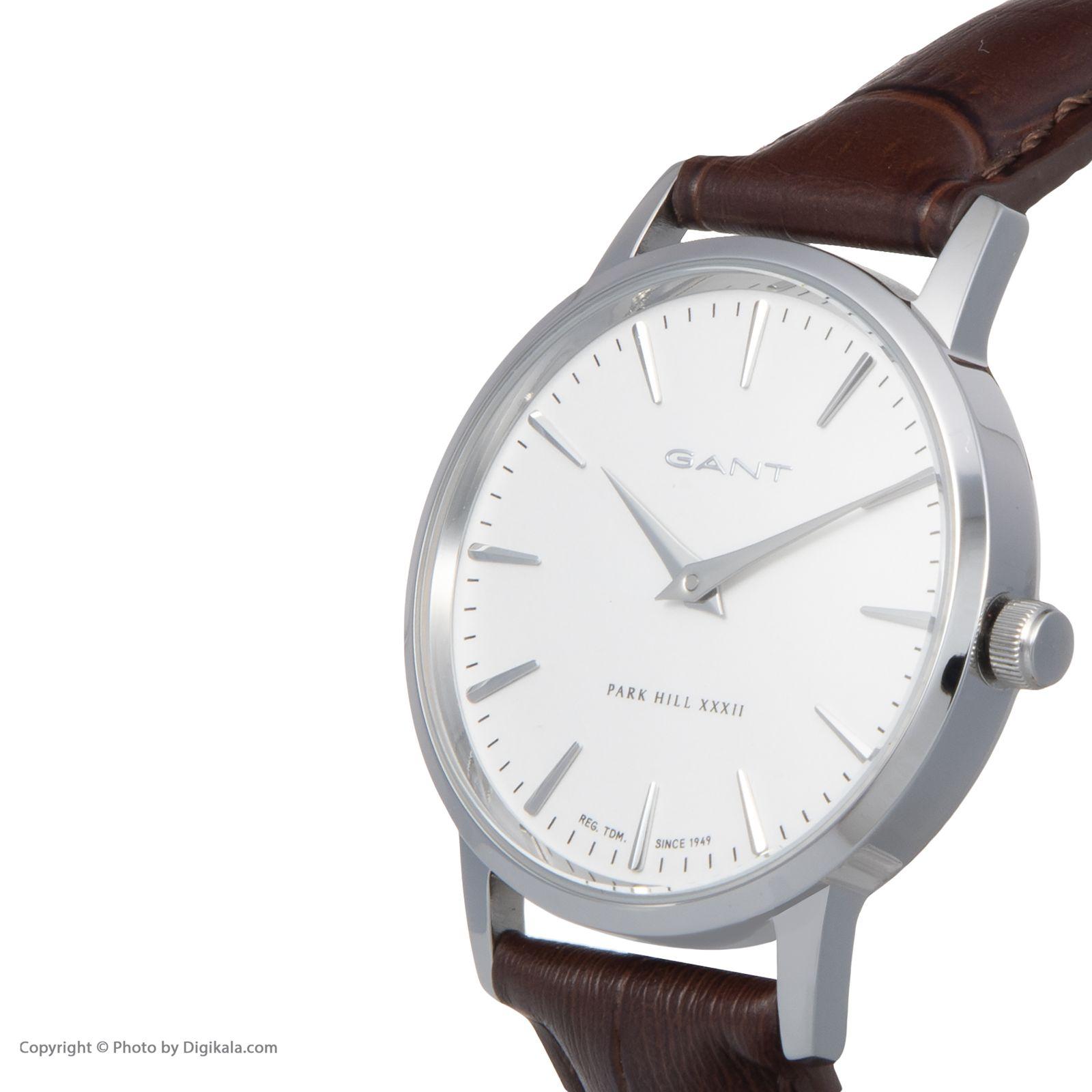 ساعت مچی عقربه ای زنانه گنت مدل GWW11401 -  - 4