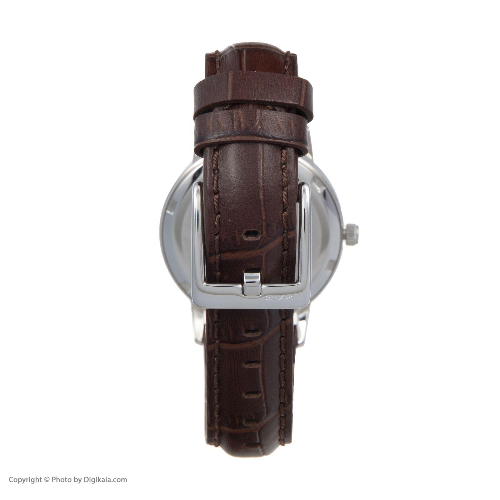 ساعت مچی عقربه ای زنانه گنت مدل GWW11401 -  - 5