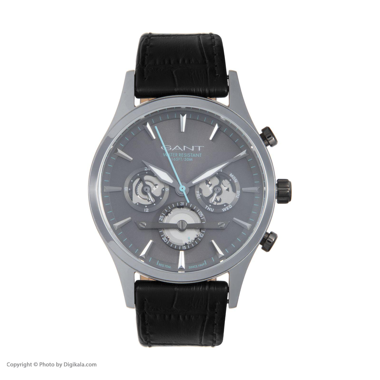 ساعت مچی عقربه ای مردانه گنت مدل GW005020 -  - 3