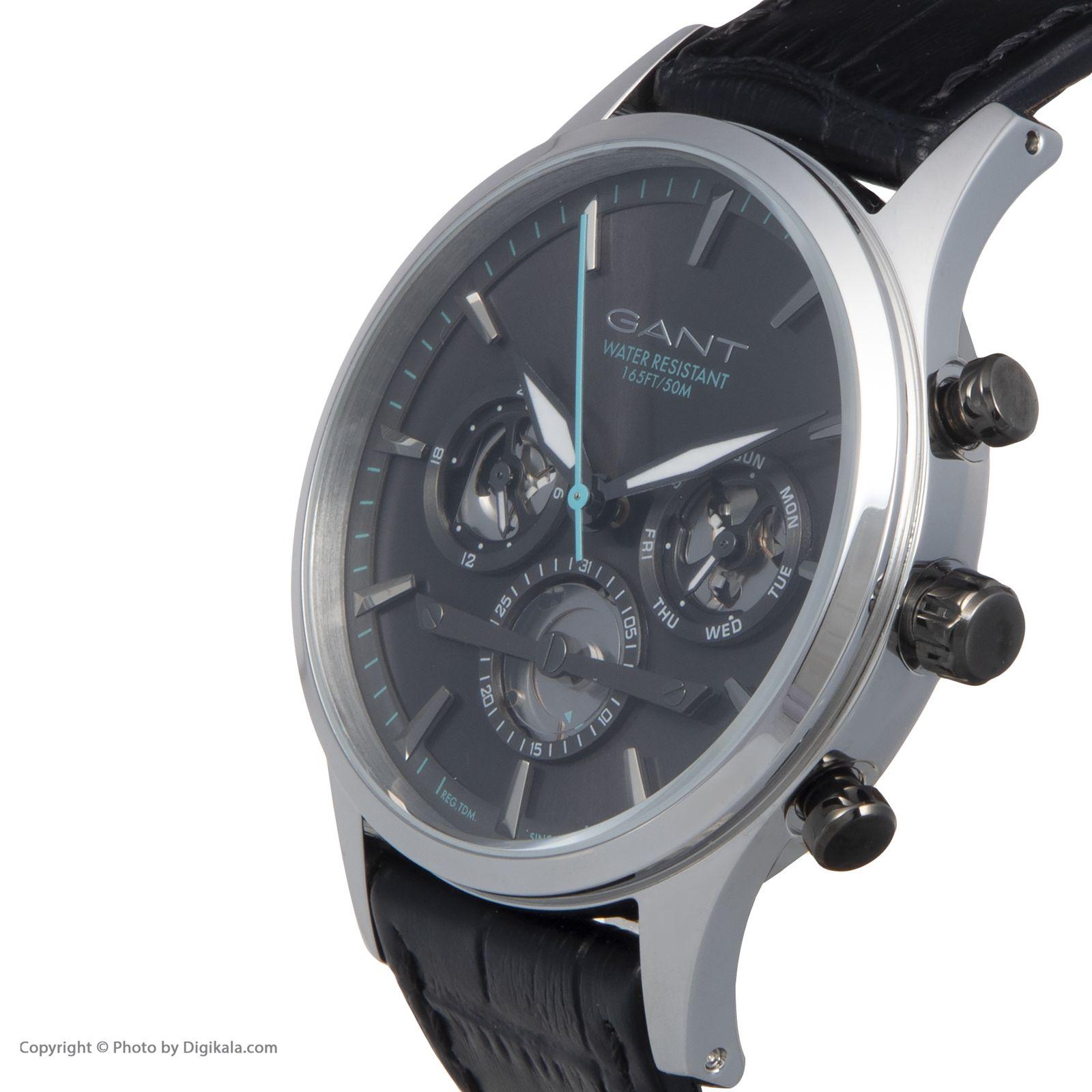 ساعت مچی عقربه ای مردانه گنت مدل GW005020 -  - 4