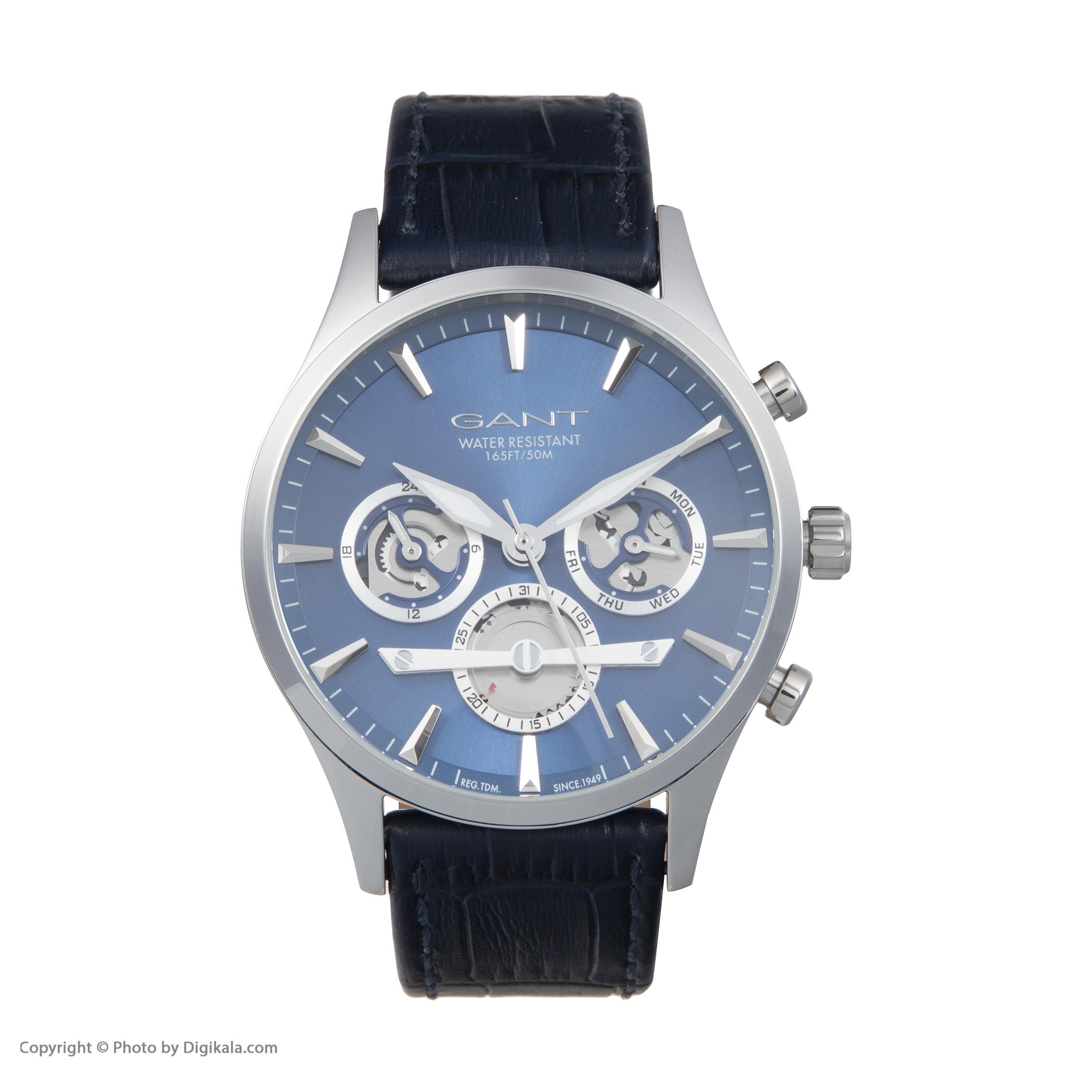 ساعت مچی عقربه ای مردانه گنت مدل GWW005001 -  - 3