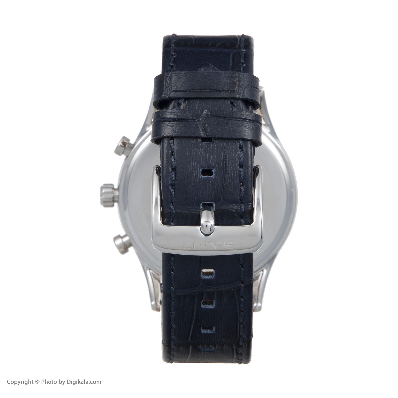 ساعت مچی عقربه ای مردانه گنت مدل GWW005001 -  - 5