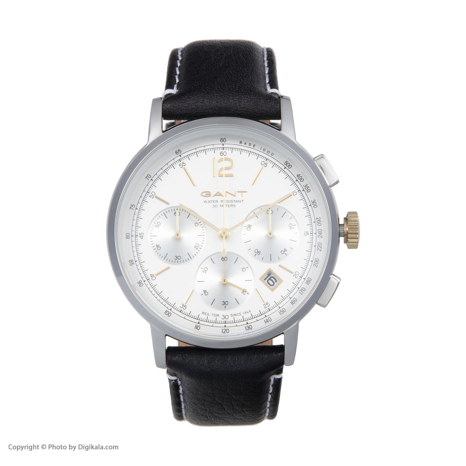 ساعت مچی عقربه ای مردانه گنت مدل GWW079002 -  - 3