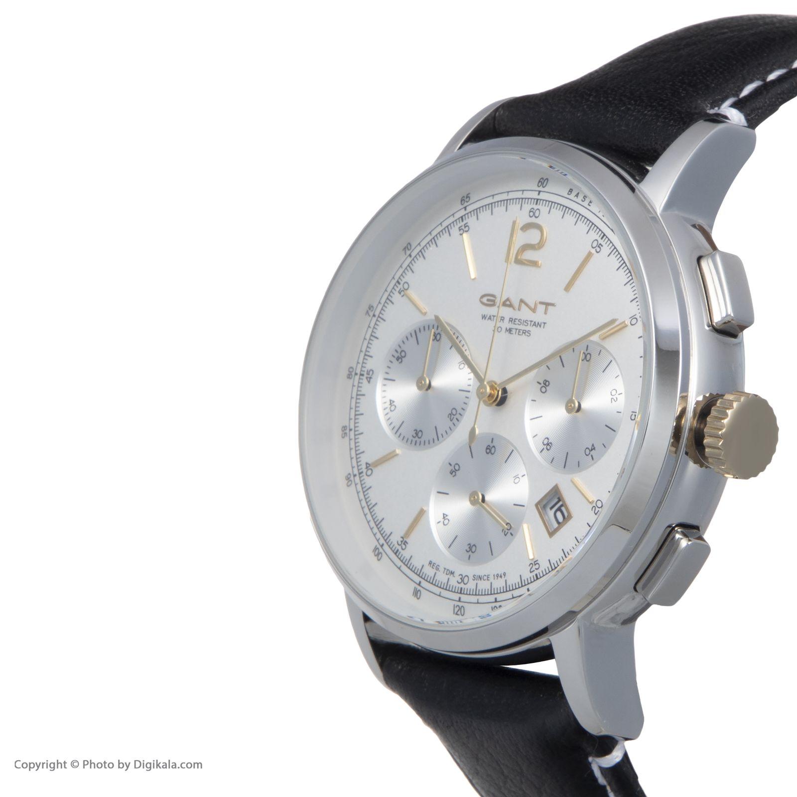 ساعت مچی عقربه ای مردانه گنت مدل GWW079002 -  - 4