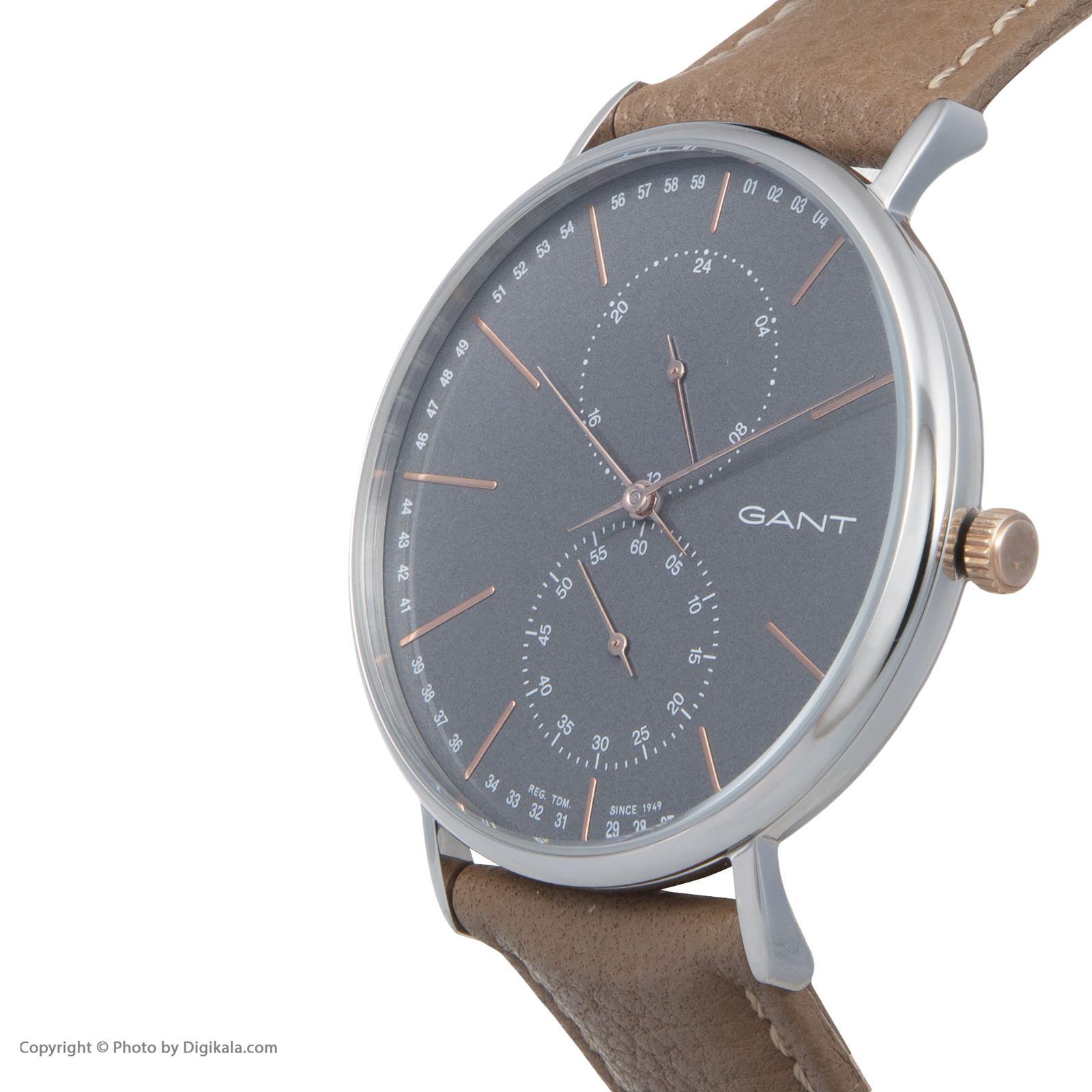 ساعت مچی عقربه ای مردانه گنت مدل GWW036009 -  - 5